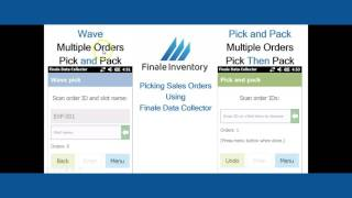 Barcode Order Picking Options - Overview