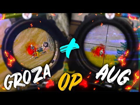 AUG+6x & GROZA+3x ARE OP || PUBG MOBILE HIGHLIGHTS