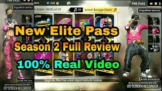 #FreeFire New Elite Pass Season 2 Full Review 100% Real Video #HINDI