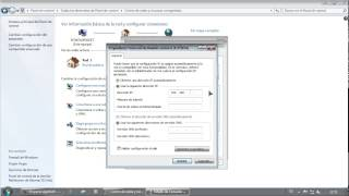 Configurar red y conexión a Internet en Windows 7 en PC de casa