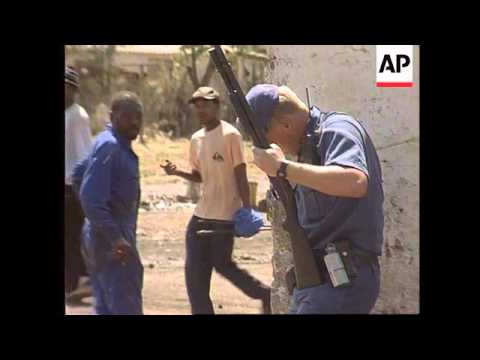S.Africa - Sebokeng Hostel Fighting