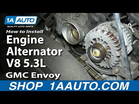 NEW ALTERNATOR CHEVY TRAILBLAZER GMC ENVOY 5.3 5.3L 03 04 05 06 2003 145 AMP