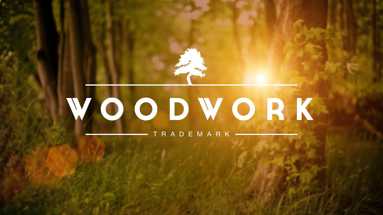 How To Design A Simple Wood Logo In Photoshop - YouTube