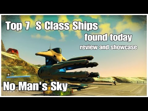 TOP 7 S Class Ships Found Today 2 No Man's Sky Buy Squid Exotic