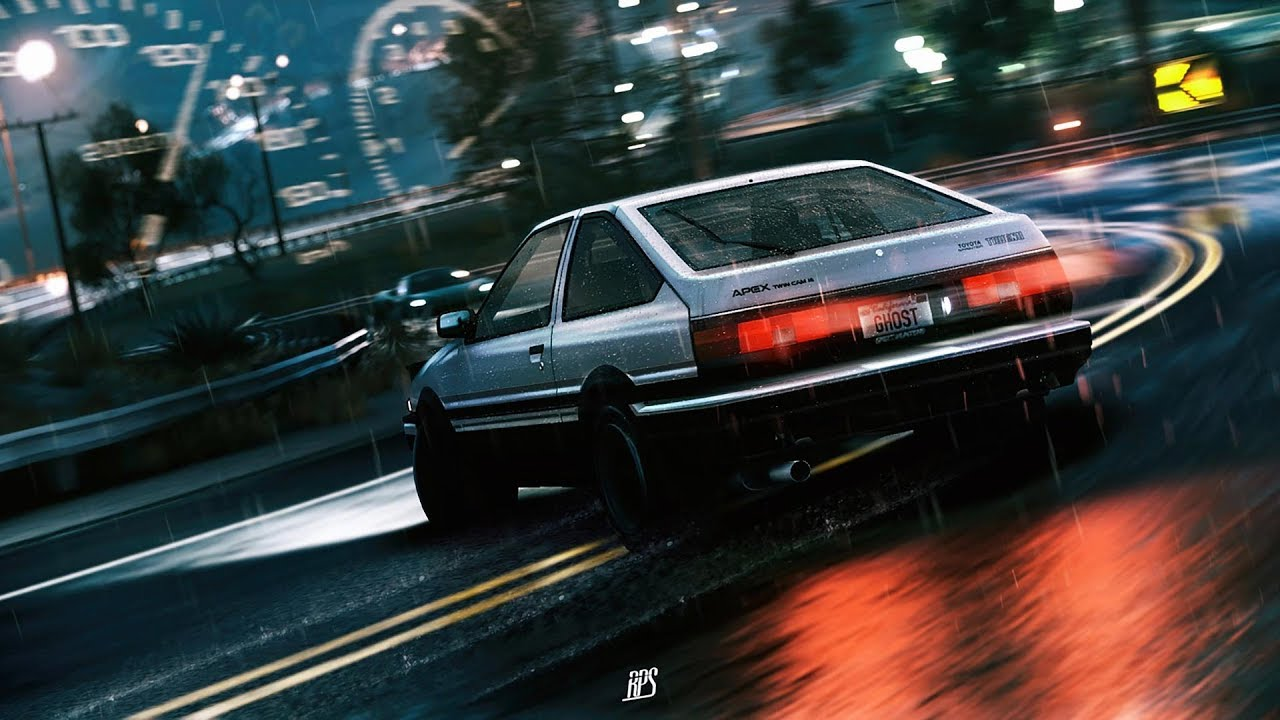 Initial d spacelove youtube - Ae86 initial d wallpaper ...