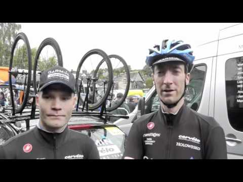 Tour of Britain 2011 Stage 2. Interview with Roger Hammond and Daniel Lloyd.m4v streaming vf