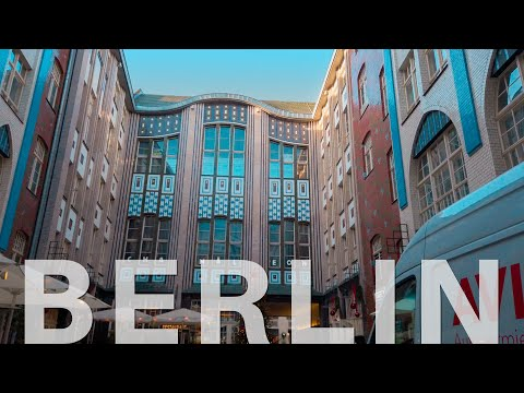 Berlin Walk Mitte Hackescher Markt 🇩🇪 [4K] Shopping Streets Germany