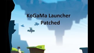KoGaMa Anti Ban Patched Launcher