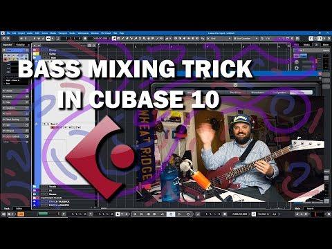 Cubase 10 Tutorial – Bass Mixing Tips
