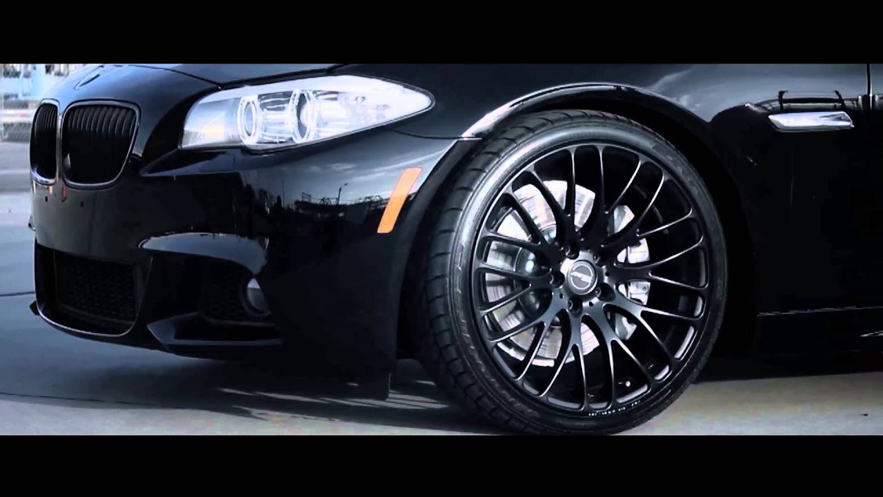 Mrr Design Concave Wheels Hr6 Bmw 535i Youtube