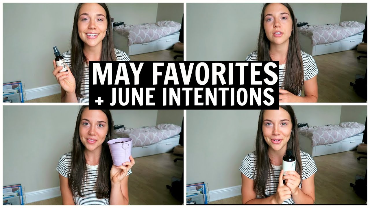 May Favorites + June Intentions || Vegan Beauty, Yoga, Exotic Fruit...