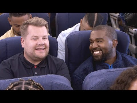 Jo Jo - Kanye West And James Corden Do Airpool Karaoke!