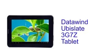 Datawind Ubislate 3G7Z Tablet Specification [INDIA]