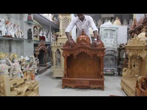 Teak Wood Temple for Home
