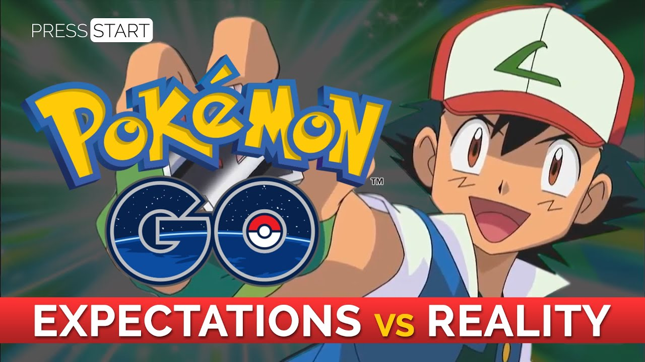 pokemon go expectations vs reality youtube. Black Bedroom Furniture Sets. Home Design Ideas