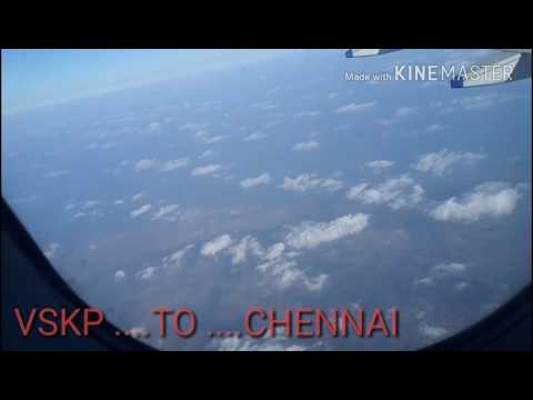 Visakhapatnam to Chennai travel ....With Indigo FLIGHT