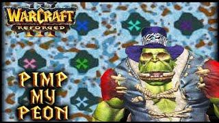 Warcraft 3 REFORGED Pimp My Bloody Peon | Winter Edition