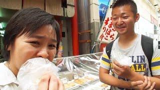 外国人が大阪の「天ぷら」に感動!!【ビックリ日本】