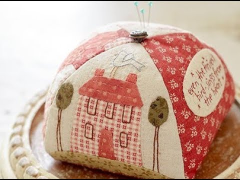 Progetto di cucito creativo puntaspilli cucito progetto di natalie bird youtube - Cucito creativo bagno ...