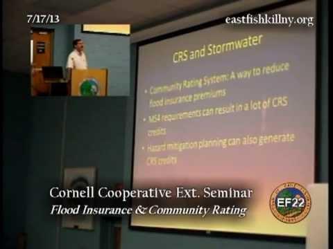 Cornell Cooperative Extension Seminar: Floodplains 7/17/13