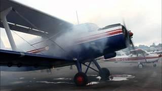 Antonov An-2 startup, takeoff and landing