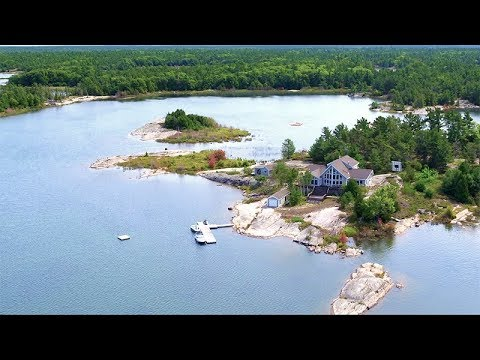 Private Island for Sale on Georgian Bay