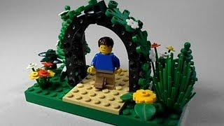 Lego Tutorial | How To Build A Garden Arbor