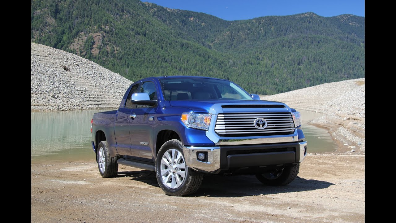 2017 Toyota Tundra Pickup Truck Review And Road Test With Entune Infotainment You