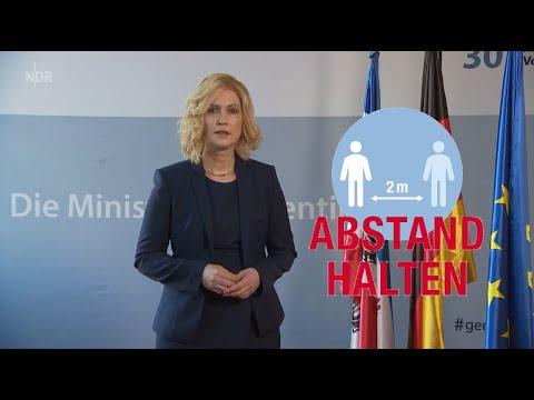 Ministerpräsidentin Schwesig Zur Corona-Krise 28.03.2020