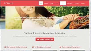 Ac Onarım web Sitesi yapmak için Nasıl HVAC Web Sitesi Şablonu AC Onarım WordPress Tema İncelemesi -