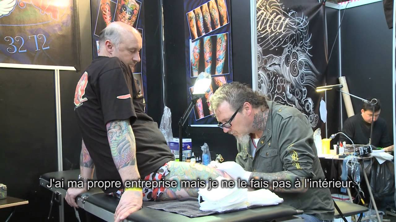 International brussels tattoo convention 2011