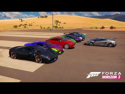 Forza Horizon 3: British Bulldog/Sharks and Minnows! (Mini Games Fun)