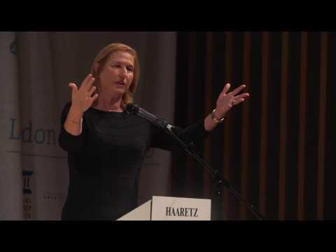 Tzipi Livni addresses the Haaretz Israeli Conference in London Part 1