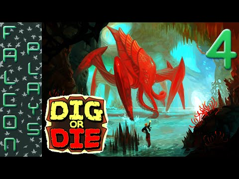 Dig or Die Gameplay - Building a DAMN good DAM - Let's Play - Ep 4