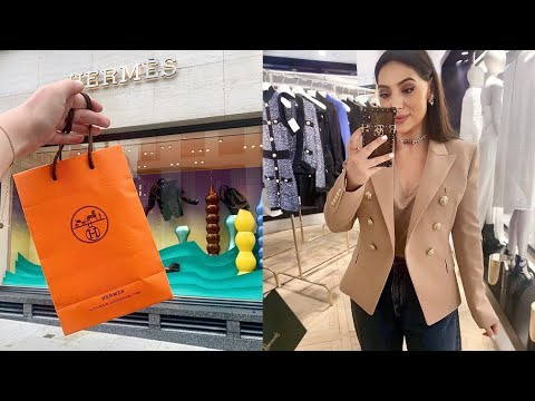 What I Bought From Hermes | Come Shopping With Me + 3 New Hermes Purchases 🍊🍊🍊