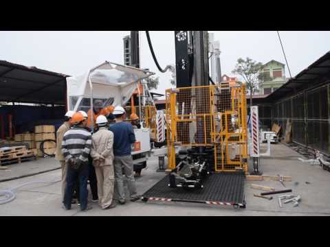 Drilling RC by Boart Longyear  LX 11 drill rig - Part 1