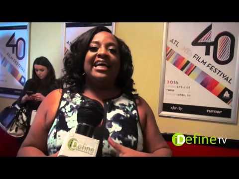 Sherri Shepherd Interview at the Atlanta Film Festival 2016 | iDefine TV