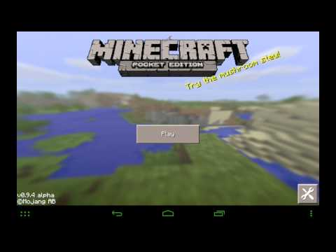 How to install mods on Minecraft Pocket Edition 0.9.5 Android