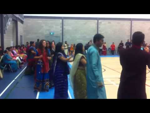 Navratri Celebrations in Thompson, Manitoba , Canada. Octob