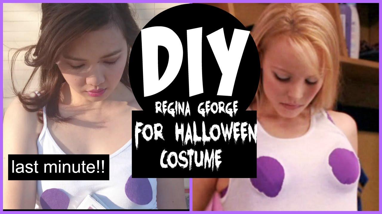 DIY HALLOWEEN COSTUME Regina George from Mean Girls Movie - YouTube