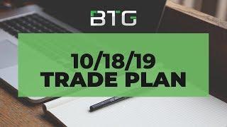 BTG 10/18/19 Trade Plan - NADEX, Futures, Forex