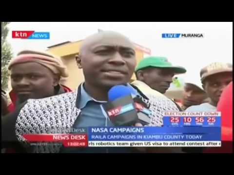 NASA team marches back to Kiambu and Muranga Counties
