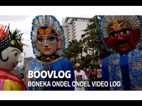 BOOVLOG -  Ketemu Ondel - Ondel Beneran