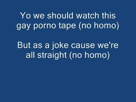 No Homo LYRICS The Lonely Island
