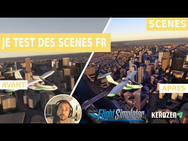 JE TESTE DES SCENES FRANCE AVANT / APRES - (Fort Boyard / La Défense) sur Flight Simulator 2020