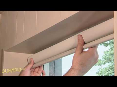 How To Install A Window Shade For Dummies Youtube