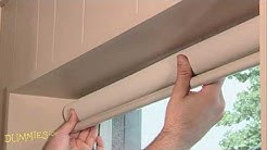 How to Install a Window Shade For Dummies