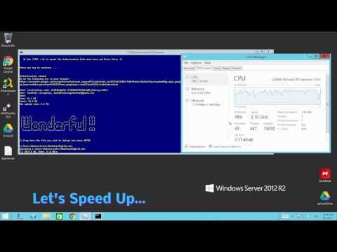 Google Drive Uploader Downloader command line utility - YouTube