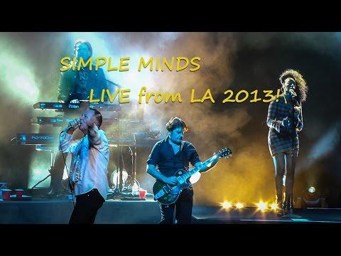 SIMPLE MINDS Live 2013! Los Angeles Orpheum Theatre 35 mins