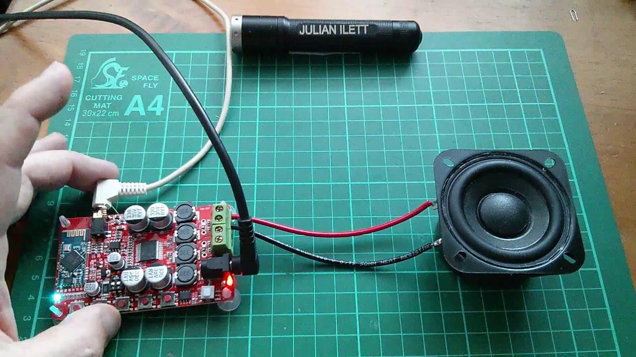 Update: SuperCapacitor Powered BlueTooth Speaker